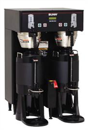 Kaffeautomat med stor kapacitet - double brew