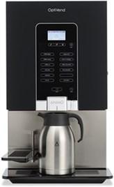 Instant kaffeautomat med stort drikkeudvalg