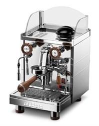 Lille espressomaskine til både kapsler og hele bønner