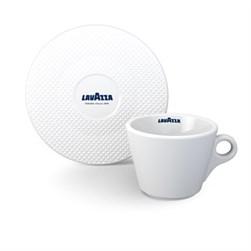 Lavazza Kaffekop med underkop, Premium