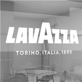 Lavazza sticker til vindue