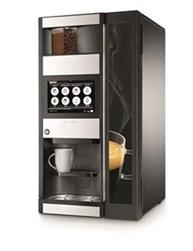 Kaffemaskine til både bønner og formalet kaffe