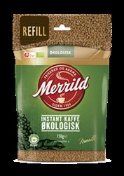Merrild Instant Økologisk Refill 8x150 g