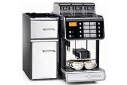 Mindre fuldautomatisk espressomaskine med køl