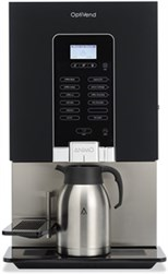 Instant kaffemaskine med stort drikkeudvalg, mange lokationer