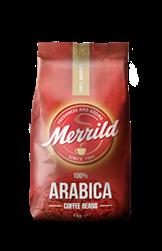 Merrild 100% Arabica Hele Bønner 6x1000g