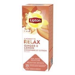 Ginger & Lemon 6 pk x 25 stk