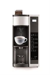 Kaffemaskine til hele bønner til kontoret
